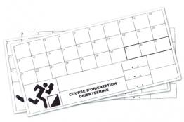 Carton de contrôle indéchirable - Le lot de 100-1