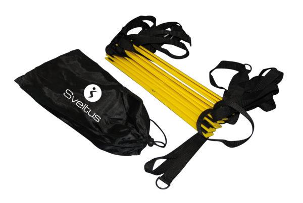 Echelle d'agilité 5m + sac de transport individuel-2