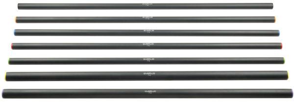 Barre acier lestée 1,20m - 6kg -2