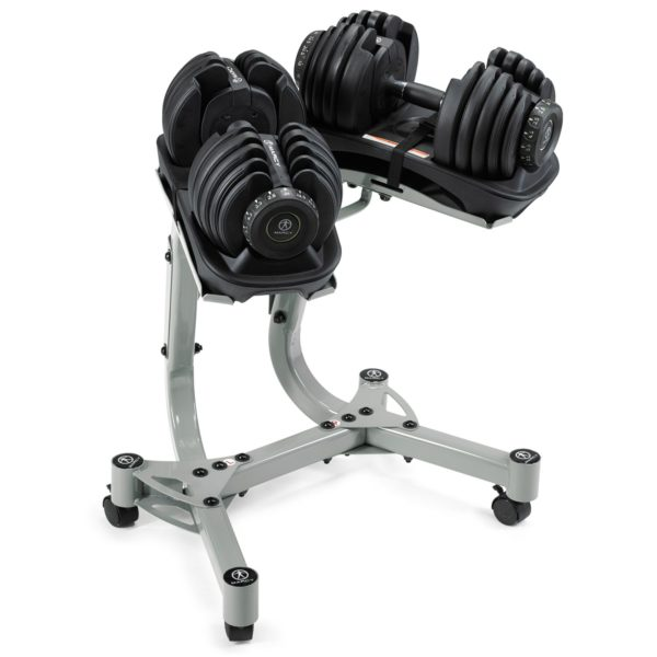 Marcy select dumbbells stand 2 x 24kg-1