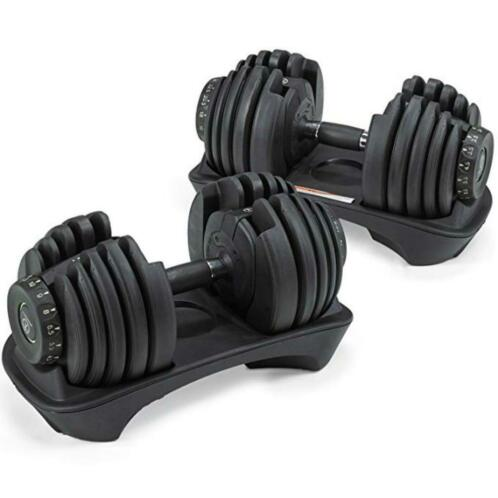 Marcy select dumbbells stand 2 x 24kg-2