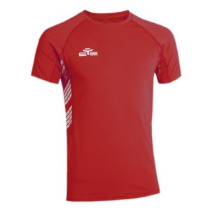 T-SHIRT 4 SPORTS ROUGE-1