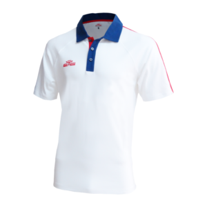 POLO WIN BLANC/NAVY/ROUGE-1
