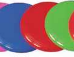 Frisbee bleu-1