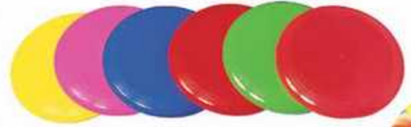 Frisbee jaune-1