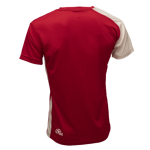 T-SHIRT ENERGY ROUGE/BLANC-1