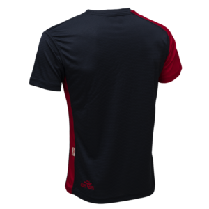 T-SHIRT ENERGY NAVY/ROUGE-1