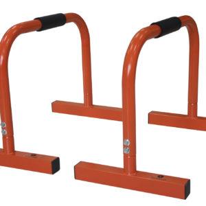 Barres parallèles 45 cm orange -1