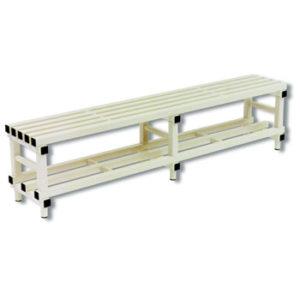 BANC DE VESTIAIRE PVC 100 X 35 X 48,5 CM-1