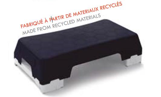 Ecostep bleu avec pieds - boîte couleur -1