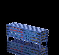BANC AVEC BOX DE STOCKAGE 200 X 49 X 49 CM-1