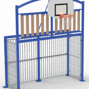 BUT MULTISPORTS CLASSIC WOOD 3 x 2 m - SCELLEMENT PLATINES-1