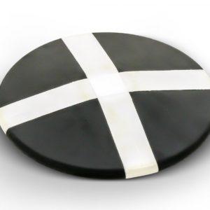 Disque d'entraînement en caoutchouc, marqué d'une croix-1