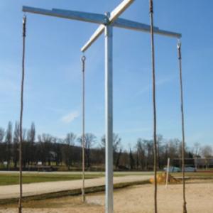 JEU DE 5 CORDES LISSES CHANVRE LONGUEUR 5 m Ø 32 mm-1