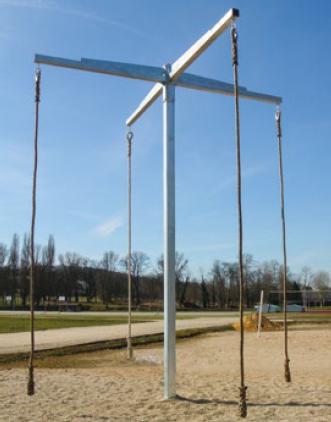 JEU DE 5 CORDES LISSES CHANVRE LONGUEUR 5 m Ø 36 mm-1