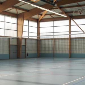 FILET VOLLEY-BALL CPE câblé Ø 2 mm - 9,5 x 1 m - TENSION CÂBLE-1